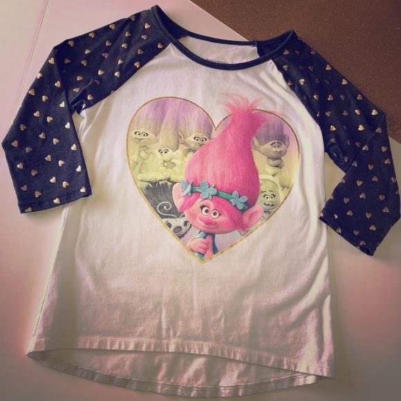 bbda65d0a54f Shirts & Tops | Adorable Dreamworks Trolls Poppy Tshirt | Poshmark